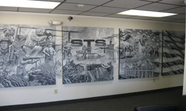 STS Inc. Front Lobby