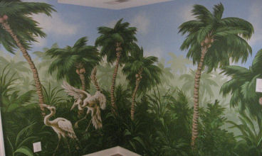 Palm Room - Detail