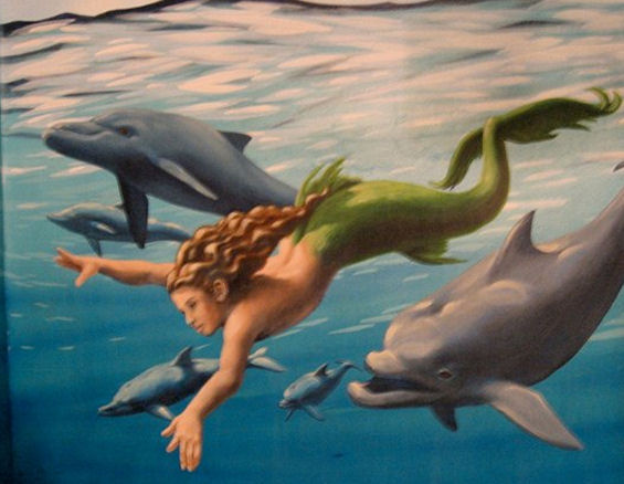 Home Murals - The Mermaid